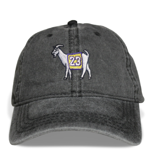 Los Angeles #23 GOAT Dad Hat (Black)