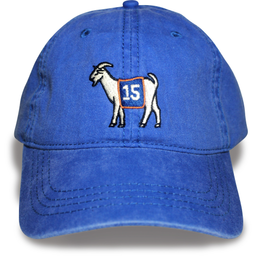 Florida #15 GOAT Dad hat (Blue)