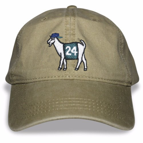 Seattle Baseball #24 GOAT Dad hat (Khaki)