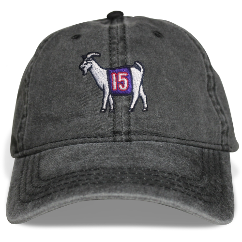 Toronto #15 GOAT Dad hat (Black)