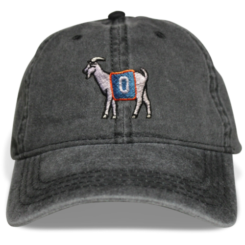 OKC #0 GOAT Dad hat (Black)