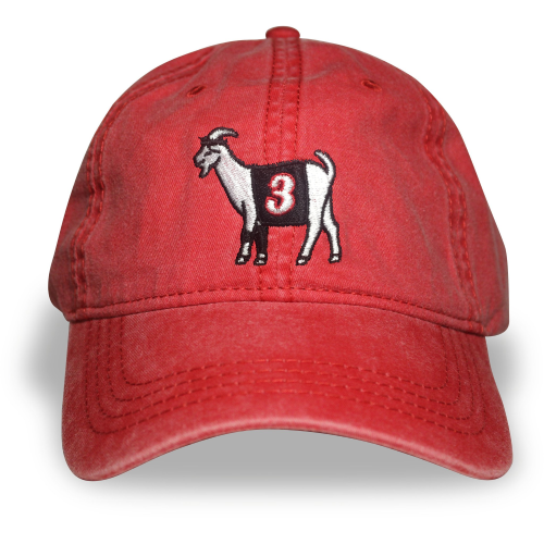 Philly #3 GOAT Dad hat (Red)
