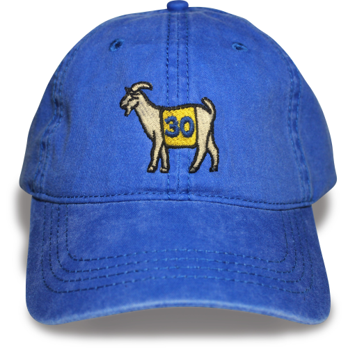 Golden State #30 GOAT Dad hat (Blue)