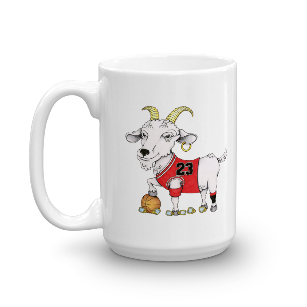 Adam Ballinger x TheGoats.co Chicago #23 GOAT Mug