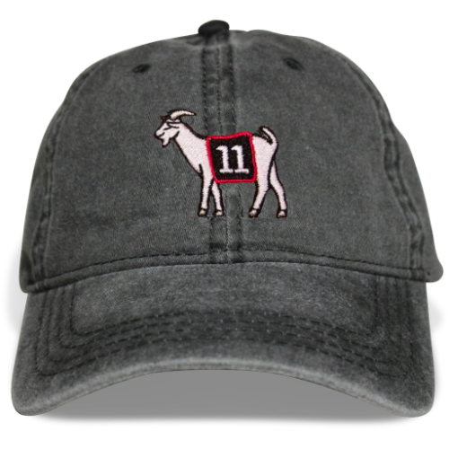 Atlanta #11 GOAT Dad hat (Black)