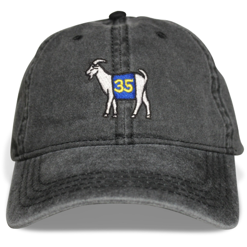 Golden State #35 GOAT Dad hat (Black)