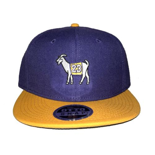 Los Angeles #23 GOAT Snapback Hat