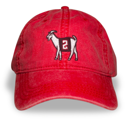 Atlanta #2 GOAT Dad hat (Red)