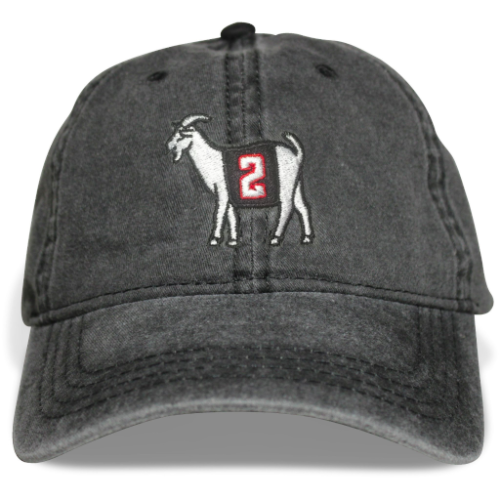 Atlanta #2 GOAT Dad hat (Black)