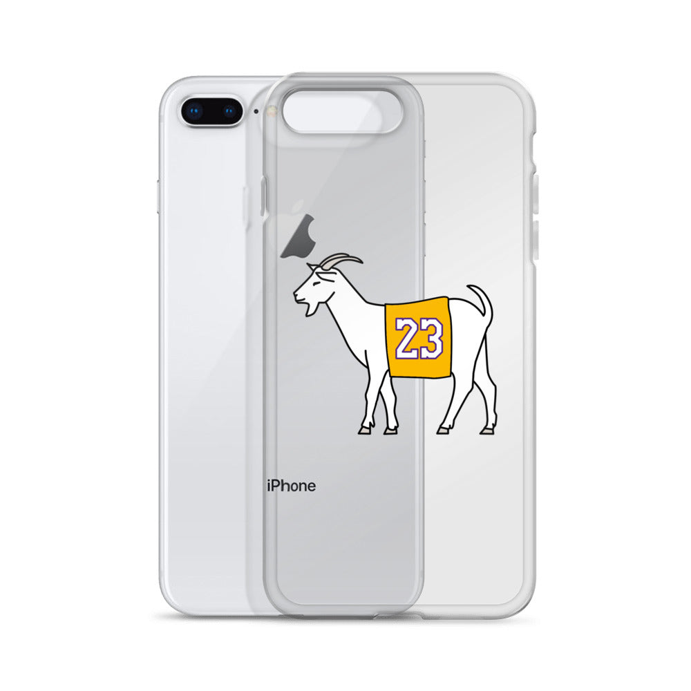 Los Angeles #23 iPhone Case (Yellow Jersey)