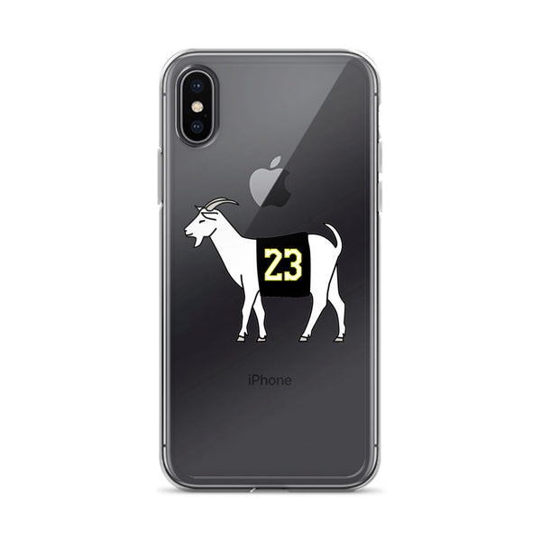 Los Angeles #23 iPhone Case (Black Jersey)