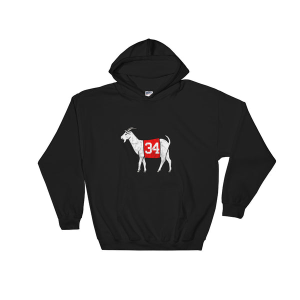 Georgia #34 GOAT Hooded Sweatshirt