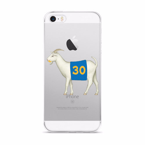 Golden State #30 Goat iPhone 5/5s/Se, 6/6s, 6/6s Plus Case