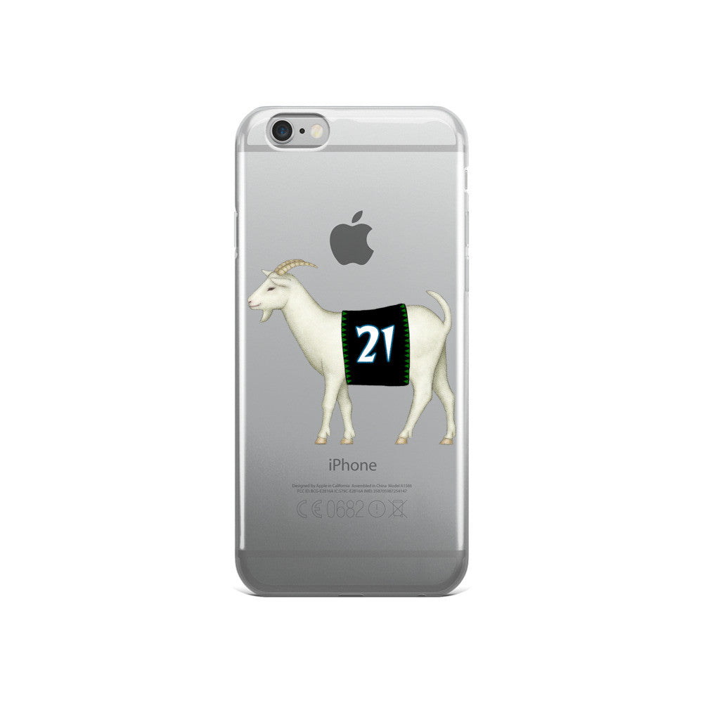 GOATnett iPhone case
