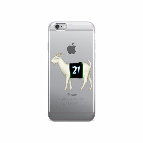 Minnesota #21 iPhone case