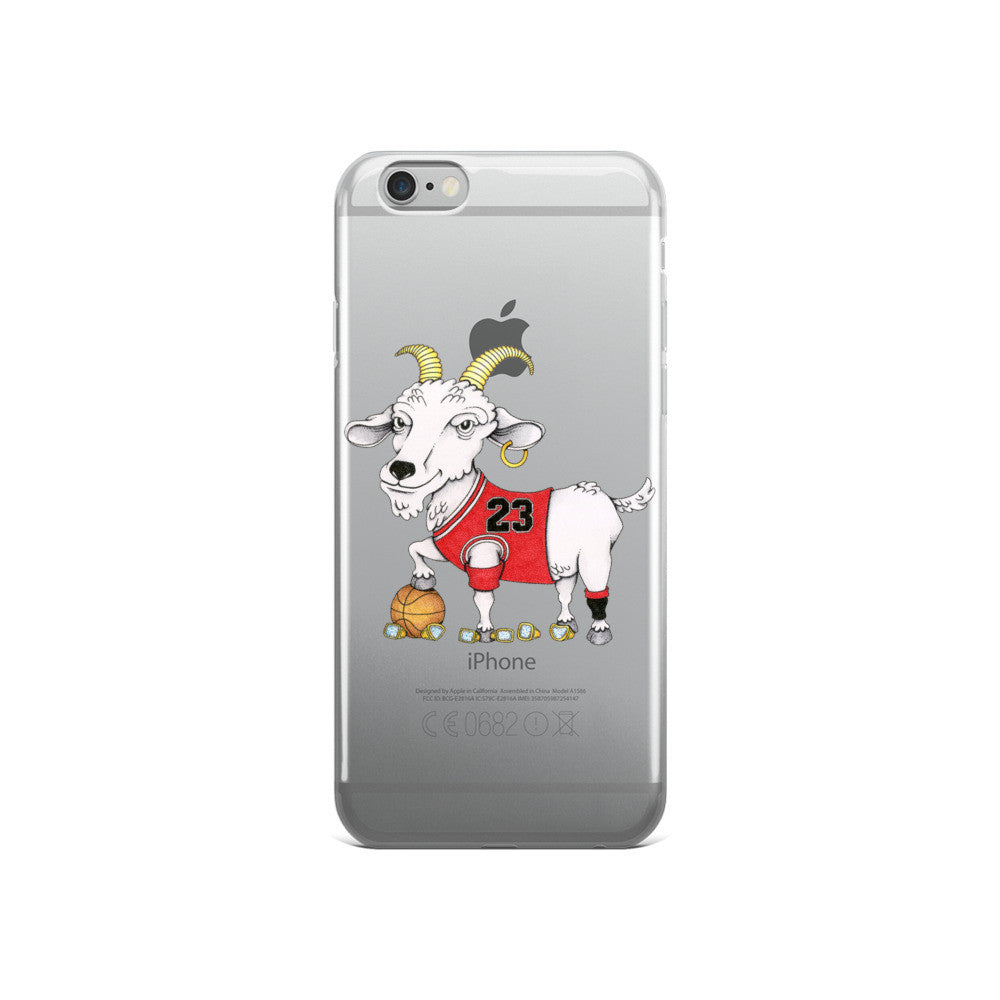 Adam Ballinger X TheGoats.co Chicago #23 Goat iPhone 6/6s, 6/6s Plus Case