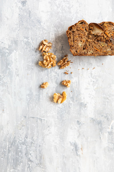 Banana, Carrot & Walnut Bread