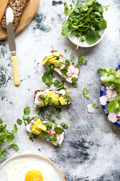 Avocado + Goat's Cheese Toast