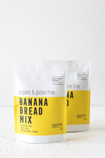 Bake & Save Bundle - 2 x Organic Banana Bread Mixes