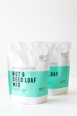 Bake & Save Bundle - 2 x Organic Nut & Seed Loaf Mixes