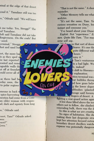 Enemies to Lovers Sticker