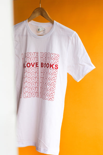 I LOVE BOOKS Tee