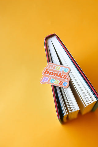 More Books, Please Sticker