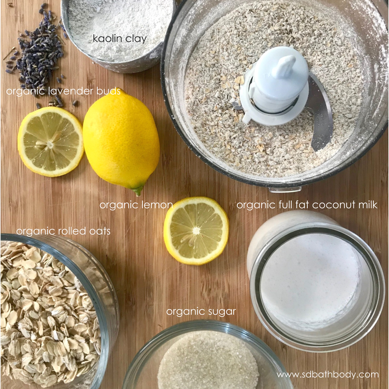Spring Facial Scrub Recipe