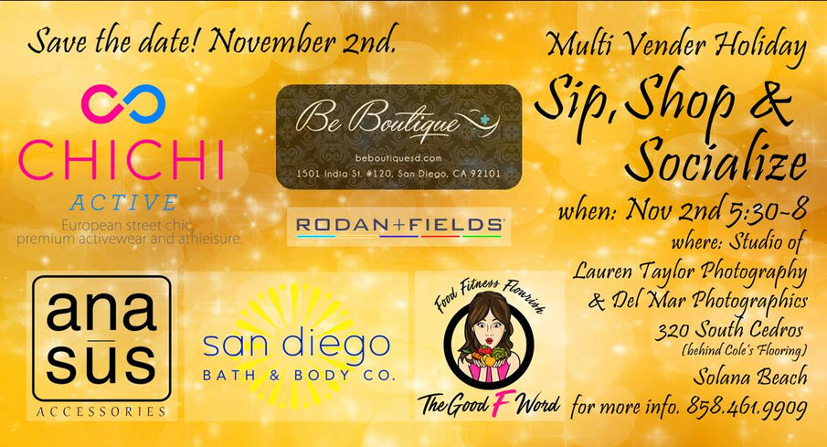 Sip, Shop & Socialize with us in Solana Beach!
