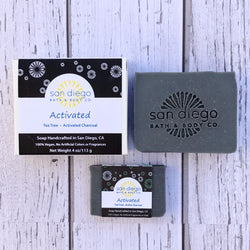 Activated Soap - San Diego Bath & Body Co.