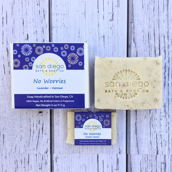 No Worries Soap - San Diego Bath & Body Co.