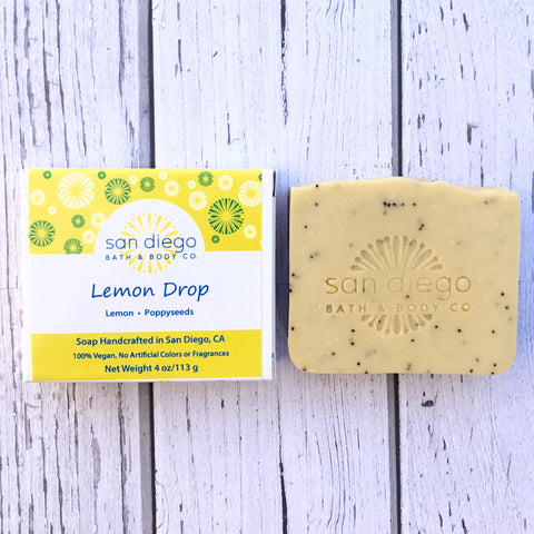 Lemon Drop Soap - San Diego Bath & Body Co.