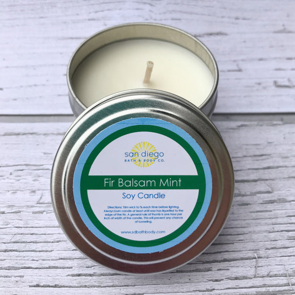Natural Soy Candles - San Diego Bath & Body Co.