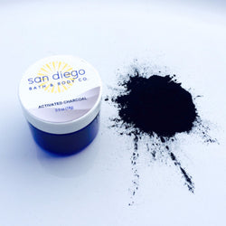Activated Charcoal Powder - San Diego Bath & Body Co.