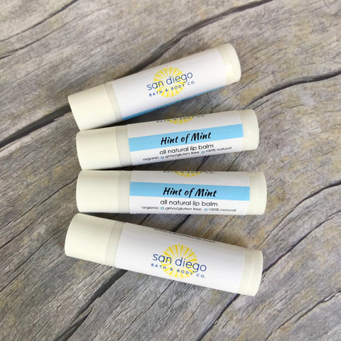 Lip Balm - San Diego Bath & Body Co.