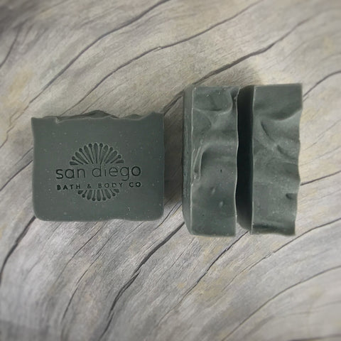 Activated Charcoal Soap - San Diego Bath & Body Co.
