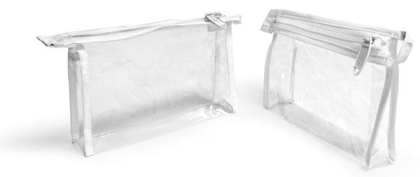Clear Vinyl Travel Bag - San Diego Bath & Body Co.