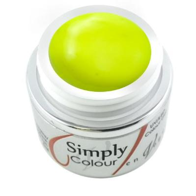 Simply Colour Gel - Neon Yellow