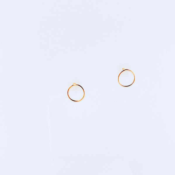 Austin Gold Circle Earring