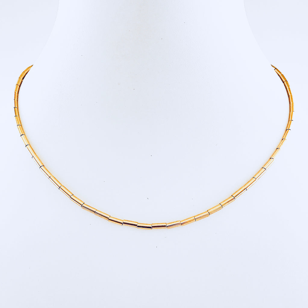 Austin Gold Pin Necklace