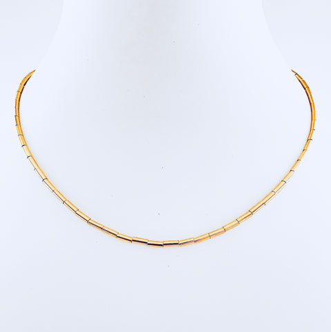 Gold Pin Necklace