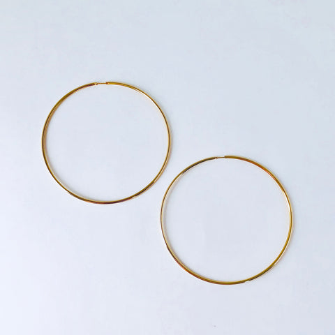 Austin Large Hoop Earring
