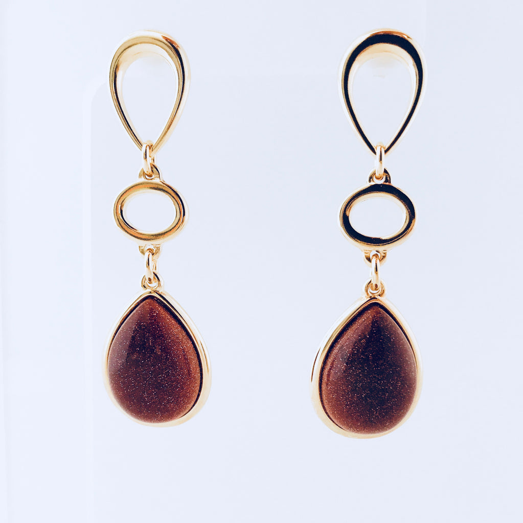 Lisbon Sunstone Earring