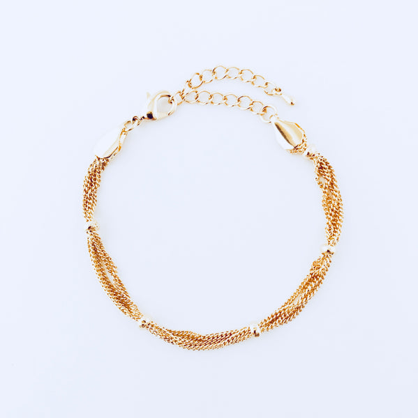Austin Gold Layered Bracelet