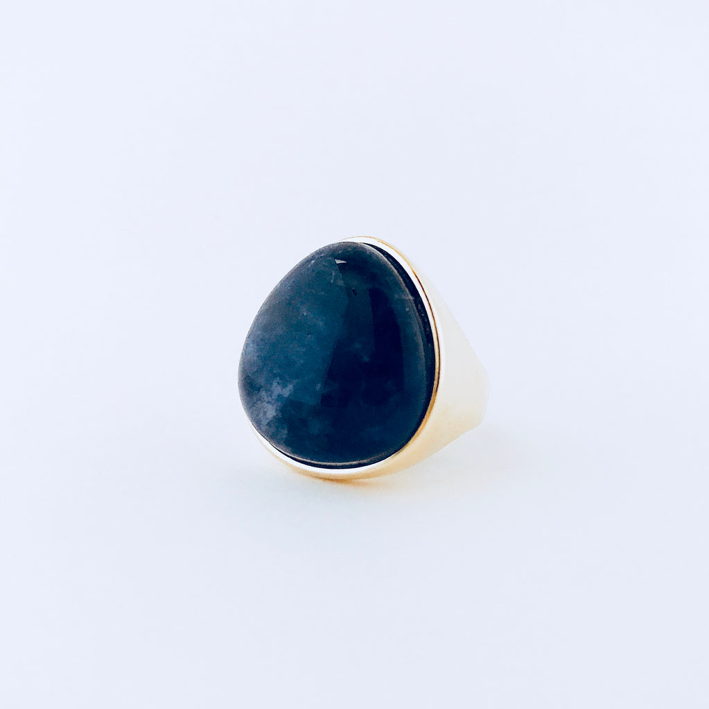 Cayman Blue Sodalite Ring
