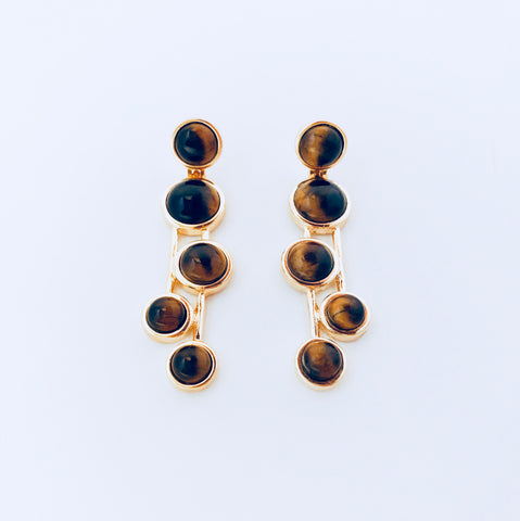 Vogue Tiger's Eye Earring