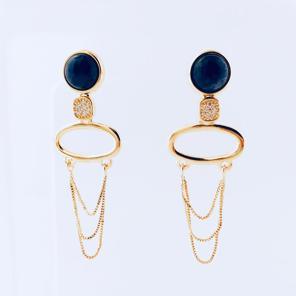 NYC Blue Sodalite Earring