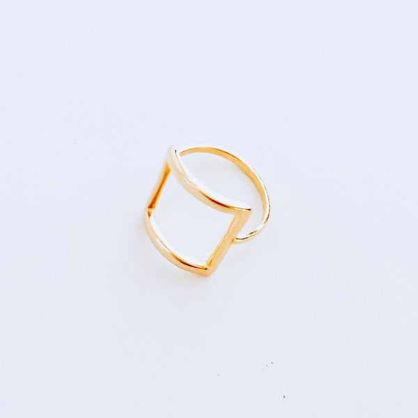 Austin Gold Square Ring