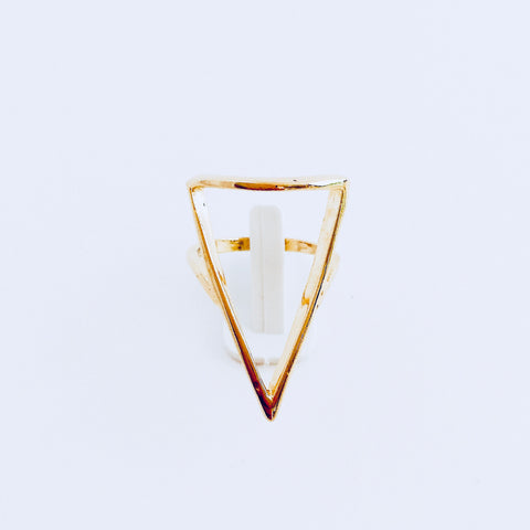 Austin Large Triangle Ring