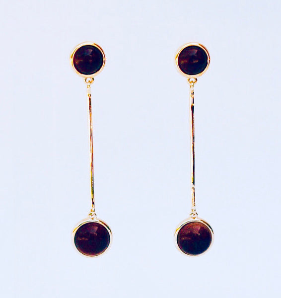 NYC Sunstone Earring